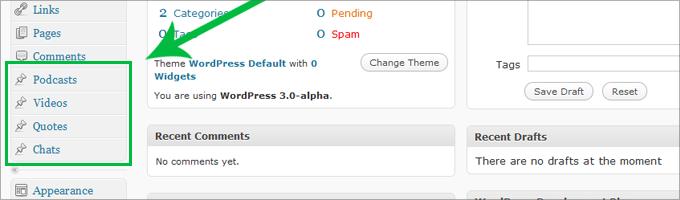 Custom Post Types in WordPress 3.0