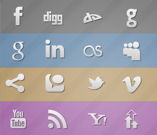 Simple & Social GPL Icons
